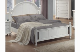 Kayla White Bed