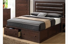 Remington Upholstered Panel Bed