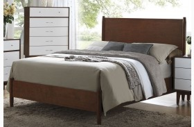 Oakwood Golden Brown Platform Bed