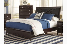 Rossville Medium Cappuccino Platform Bed