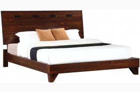 Yorkshire Dark Amber Platform Bed