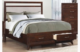 Carrington Coffee Platform Storage Bed