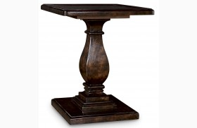 Collection One Lambert Finish Accent Table