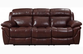 Edinburgh Brown Reclining Sofa