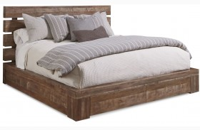 Epicenters Williamsburg Platform Storage Bed