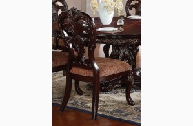 Deryn Park Cherry Finish Side Chair Set of 2