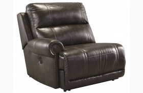 Dak DuraBlend Antique Left Arm Facing Zero Wall Recliner