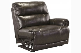 Dak DuraBlend Antique Right Arm Facing Zero Wall Recliner