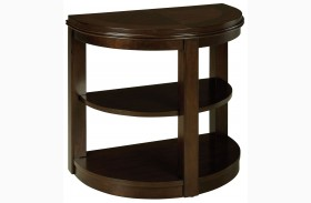 Spencer Smoky Bronze Finish Chair Side Table