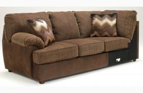Cladio Hickory LAF Sofa