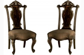 Gables Wood Back Side Chair Set of 2