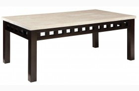 Gateway Off White Finish Cocktail Table