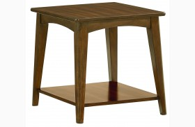 Roxbury Brown Finish End Table