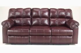 Kennard Burgundy Sofa