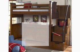Dawsons Ridge Youth Open Loft with Storage Steps