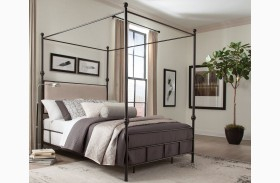 Lanchester Metal Canopy Bed