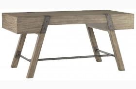 Barton Creek Driftwood Patina Finish Wyatt Table Desk