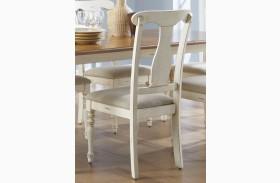 Ocean Isle Upholstered Splat Back Side Chair Set of 2