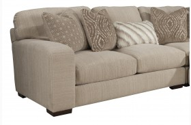 Serena Oyster Finish LAF Loveseat
