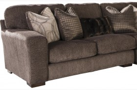 Serena Truffle Finish LAF Loveseat