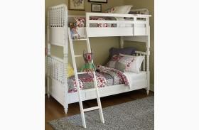 Bellamy Smartstuff Daisy White Bunk Bed
