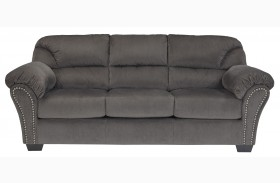 Kinlock Charcoal Finish Sofa