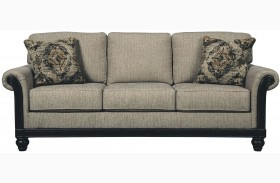 Blackwood Taupe Finish Sofa