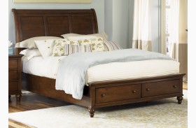 Hamilton Sleigh Storage Bed