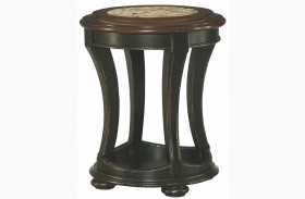 Dorset Black End Table