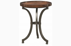 Barrow Rich Amber Chairside Table