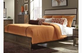 Hudson Square Espresso Panel Bed