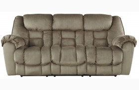 Jodoca Driftwood Finish Reclining Sofa