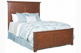 Homecoming Vintage Cherry Winchester Panel Bed