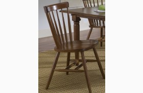 Creations II Tobacco Side Chair Set of 2