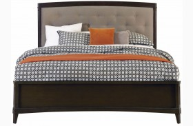 Juliette Mink Upholstered Panel Bed