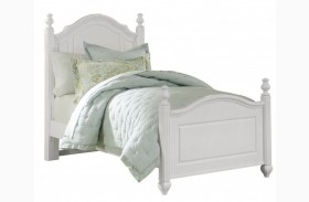 French Market Soft White Youth Poster Bed