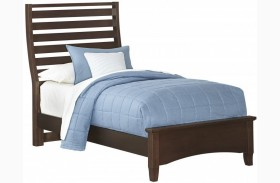 Commentary Cherry Youth Benchback Panel Bed
