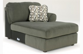 Jessa Place Pewter Right Arm Facing Corner Chaise