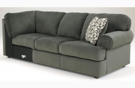 Jessa Place Pewter Right Arm Facing Sofa