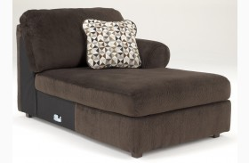 Jessa Place Chocolate RAF Chaise