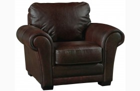 Mark Italian Leather Chair