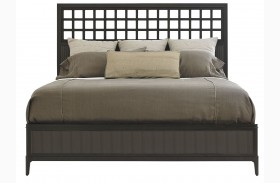 Wicker Park Wood Panel Bed