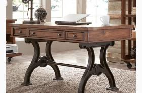 Arlington House Cobblestone Brown Finish Writing Desk