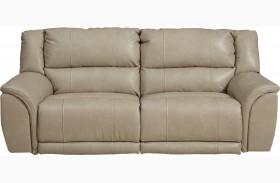 Carmine Pebble Reclining Sofa