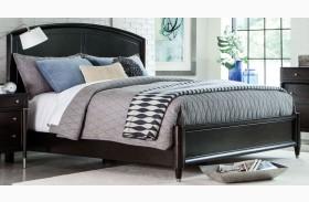 Vibe Merlot Panel Bed