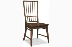 Blue Ridge Rake Finish Back Side Chair