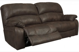 Zavier Truffle Finish 2 Seat Reclining Sofa