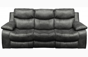 Catalina Steel Reclining Sofa
