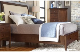Gatherings Honey Meridian Storage Bed