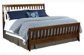 Gatherings Cinnamon Slat Bed